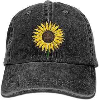Sunflower Vintage Adjustable Baseball Caps Jeans Sunbonnet