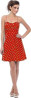 50's Retro Rockabilly Polkadot Dress Sundress