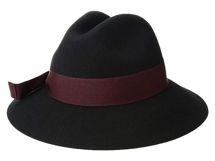 1940s Style Hats Betmar Bardot Black Caps $29.70 AT vintagedancer.com