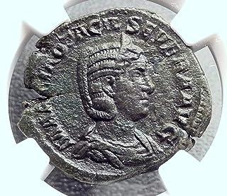 249 IT OTACILIA SEVERA 249AD Rome Sestertius Philip I An Sestertius XF NGC