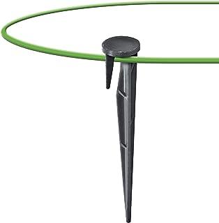 GARDENIX® 200 unidades Anclajes WirePEG para cable delimitador para cortacésped robóticos compatibles con Gardena Husqvarn...