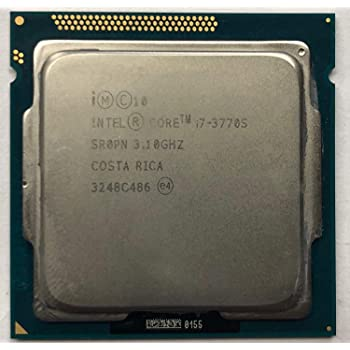 5 Gt//S Dmi 22 Nm 1 Mb 8 Mb Cache 153.3 F Core 1155Oem Pack 3.40 Ghz Processor 67.4 C 77 W Socket H2 Lga 3770 Quad 4 Core Intel Hd 4000 Graphics Product Type: Electronic Components//Microprocessors Intel Core I7 I7 Yes