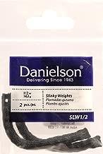 Danielson Standard Lead Shot Slinky Weights, 1/2-Ounce