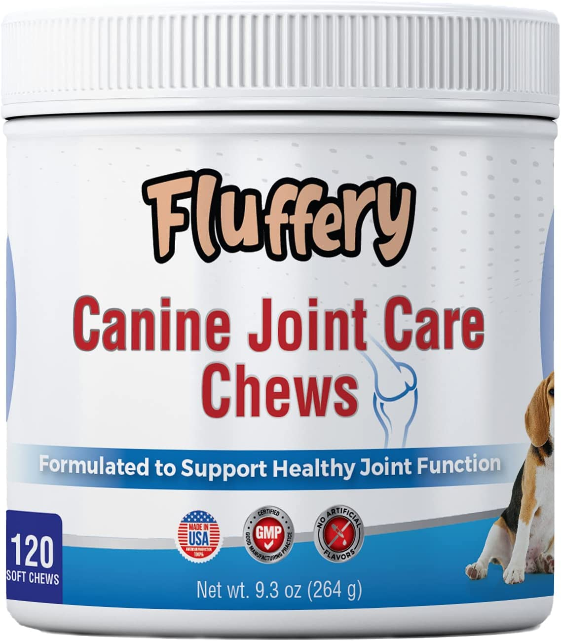 Fluffery Dog Daily bargain sale Joint Care Sale Special Price Chews Chewable - Supplement for Healthy