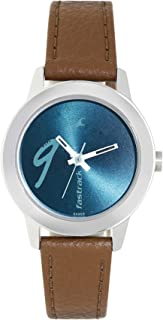 Fastrack Tropical Waters Green Dial Analog Watch for Women, NL68008SL05