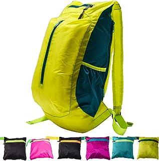 YARWAYER Ultra Ligero Suave Plegable Empaquetado Hombres Niños Mujer niña Deportiva Camping de Vacaciones Mochila