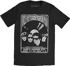 Impact Velvet Underground velvet vinyl fitted jersey tee,Black,Medium