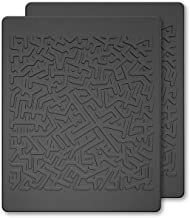 JIMISHA Anti Slip Pad, Magic Sticky Gripping Pad Sticky Gel Pad Multifunctional Fixate Gel Pads Non-Slip Mounting Pad Cell Pad, Stick to Anywhere & Fixate Everything, 6.3x5.1inch, Black