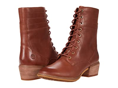 Timberland Sutherlin Bay Side Zip Boot (Medium Brown) Women