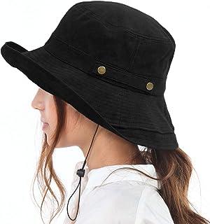 TRAX SHOP 5色 UVカット あごひも付き 帽子 レディース UV 折りたたみ 自転車 飛ばない 風で飛ばない UPF50+ あご紐 春 夏 春夏 秋 冬 秋冬 保育士 フェス TGY-032