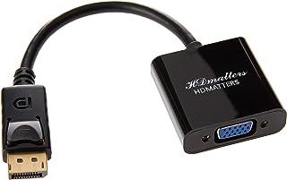 Cabo Adaptador Conversor Vídeo Displayport para Vga Dell Hp