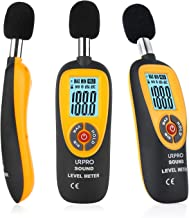 URPRO Decibel Meter, Digital Sound Level Meter 30-130 dB Audio Noise Measure Device Dual Ranges HT-90A