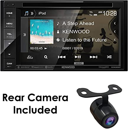 """$179 Get Kenwood Audio DDX26BT 6.2"""" Double Din Bluetooth WVGA Touch Screen DVD Receiver w/HD Rear View Camera"""