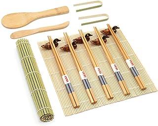 Sushi Making Kit Tools, Deluxe 16pcs Sushi Maker Set beinhal