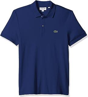 Lacoste Men's Short Sleeve Pima Jersey Interlock Regular Fit Polo