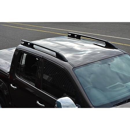 Alvm Parts Accessories Alvm Teile Und Zubehör Schwarz Aluminium Relingträger Seite Bars Set Um Amarok 2010 Auto