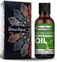 Aromatique Peppermint Essential Oil for Hair,Skin. 100% Pure and Natural Therapeutic Grade (15ml)