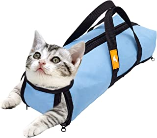wintchuk Cat Grooming Restraint Bag for Bathing Washing...