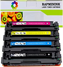 RapmininK Compatible Replacement for 045 CRG-045H 045A Toner Cartridge for use with Color ImageCLASS MF634Cdw MF632Cdw, LBP312Cdw LBP613Cdw LBP611Cn Printers (Black, Cyan, Yellow, Magenta)