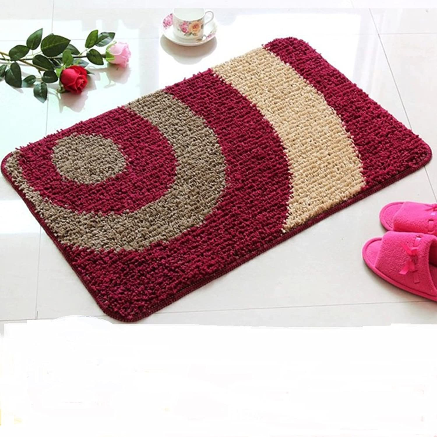 Door mats mattresses Kitchen foyers mats Non-Slip mats-C 80x110cm(31x43inch)