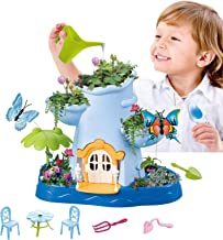 Vokodo Kids Magical Garden Growing Kit Includes Tools Flower Plant Tree Interactive Play Fairy Toys Inspires Learning and Ecological Educational Perfect for Children Girls Boys