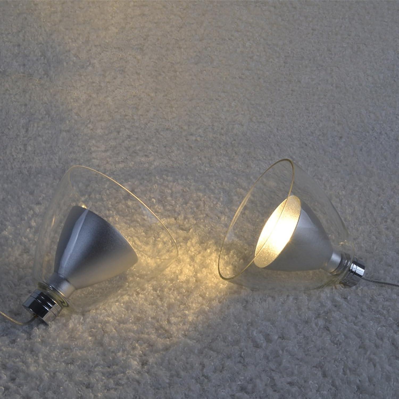 LED-Kronleuchter moderne minimalistische Persnlichkeit kreative Restaurant Schlafzimmer Nachttischlampe Einkopf- Kronleuchter Trompete