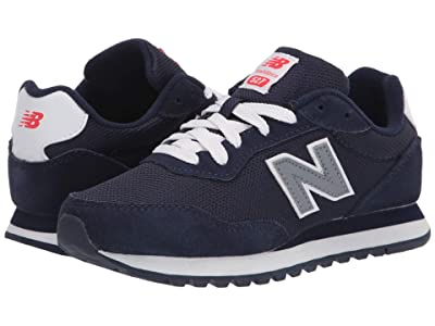 New Balance Kids 527 (Little Kid) (Pigment/Gunmetal) Boy