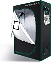MARS HYDRO 2'x4' Grow Tent for Indoor Plant Growing 1680D Canvas Reflective Mylar Hydroponic Grow Tents 4'x2' 24