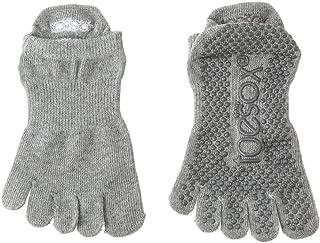 トゥーソックス フルトゥーライズグリップグリップ ソックス 五本指靴下 Full Toe Low Rise Grip Socks TOESOX [並行輸入品]