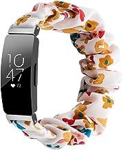 Jennyfly - Cinturino di ricambio per Fitbit Inspire 2, da donna e ragazza, morbido elastico, 125 mm, compatibile con Fitbi...