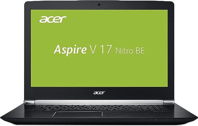 Acer Aspire 17 Nitro  VN7-793G-53K5  43 9 cm  17 3 Zoll FHD IPS matt  Gaming Laptop  Intel Core i5-7300HQ  8GB RAM  256GB PCIe SSD 1TB HDD  GeForce GTX 1050Ti  USB 3 1 Type-C  Win 10  schwarz
