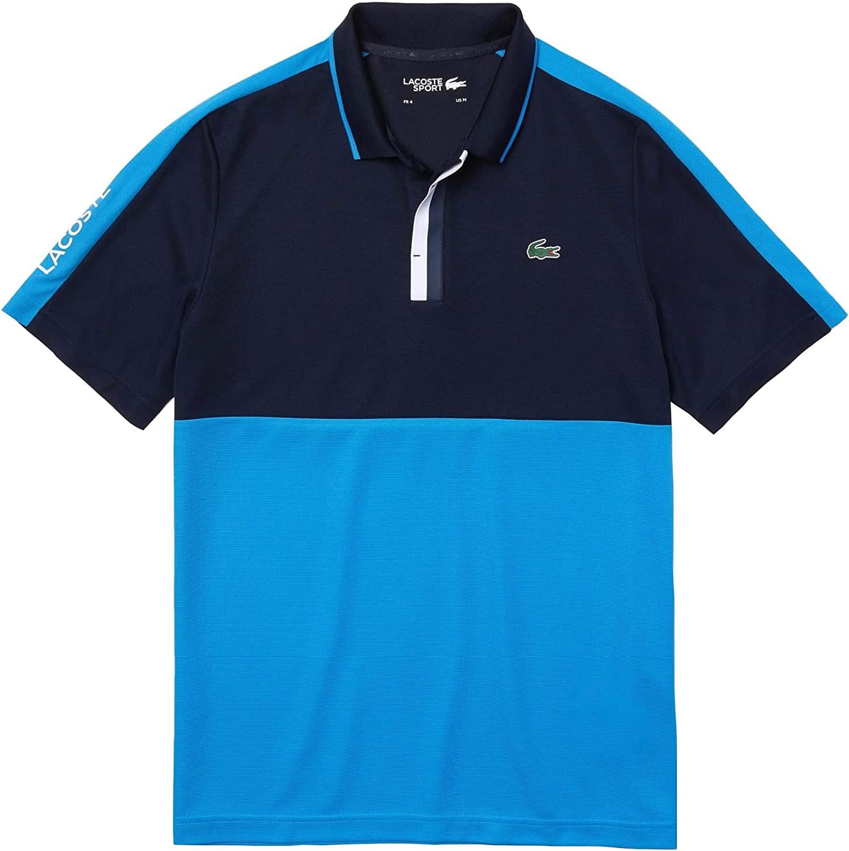 Lacoste free T-Shirt DH967751EVV Blue Dedication Navy L