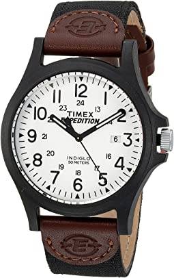 Timex - Expedition Acadia Mixed Materials Strap