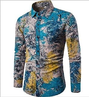 Long Sleeves Printed Floral Beach Club Shirts