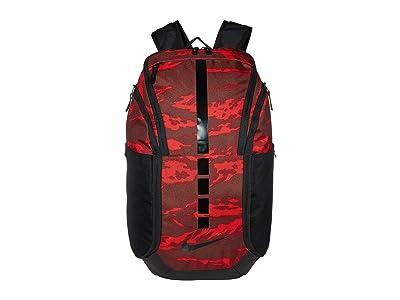 Nike Hoops Elite Pro Backpack (Bronze Eclipse/Light Redwood/Black) Backpack Bags