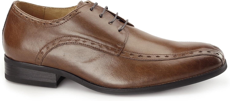 Azor Regent Mens Leather Oxford Smart shoes Tan