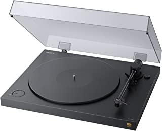 Sony 索尼 PS-HX500 黑胶唱片机 Hi-Res数字播放器 高分辨率音频翻录功能 双DSD格式 USB A/D转换器 黑色