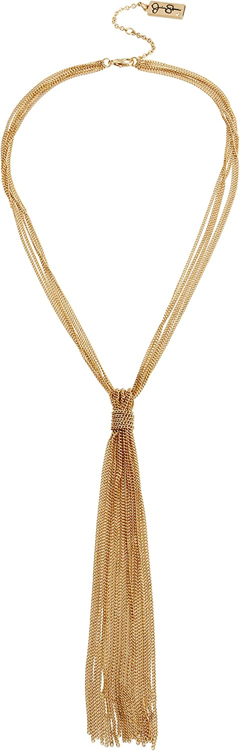 Jessica Simpson Knotted Y Necklace