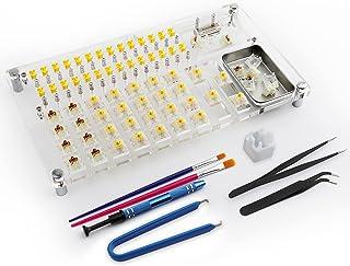 JakeTsai Lube Station Switch testare öppnare plattformssats för mekaniska tangentbordsomkopplare testare lubstation anpass...