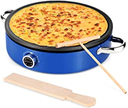 "MICHELANGLEO Crepe Maker 13 Inch, Professional Electric Crepe Maker with Large 13"".."