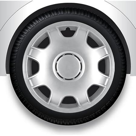 Zentimex Radzierblenden Radkappen Radabdeckung 13 Zoll 52 Silber Abs Auto