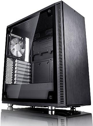 Fractal Design Define C, Black, Tempered Glass ミドルタワー型PCケース CS6889 FD-CA-DEF-C-BK-TG