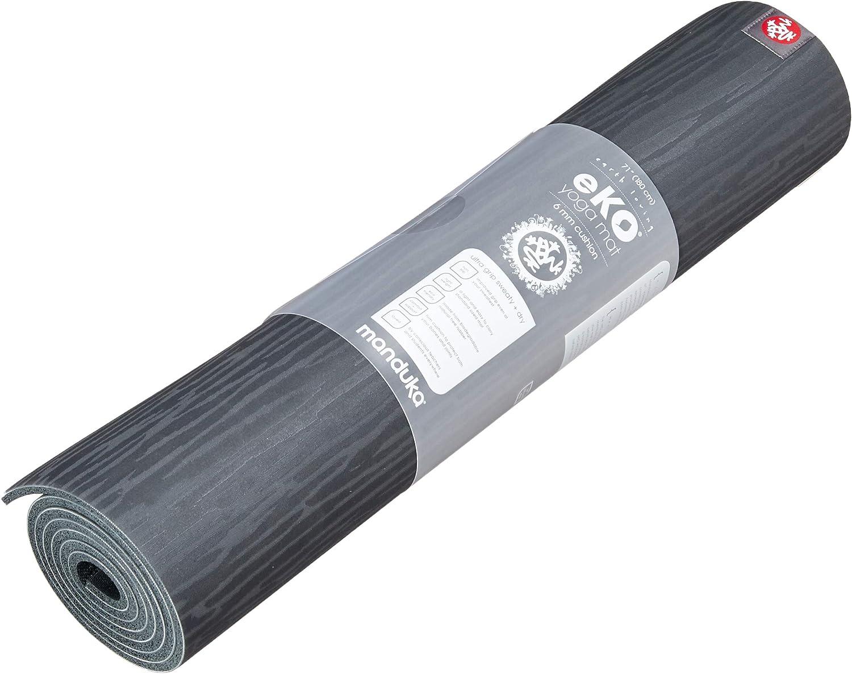 Manduka MNDK9 EKO 2.0 Mat New product type Pilates 5mm-71-Charcoal Yoga excellence