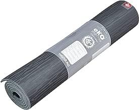 Manduka Unisex  EKOLITE 4MM-68-CHARCOAL Eko 4mm Yoga Mat eKO Lite Yoga and Pilates Mat ,Charcoal ,One Size