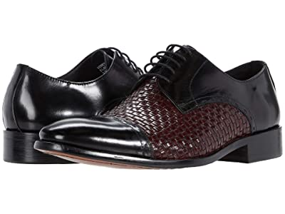 Carrucci Venetian (Black/Burgundy) Men