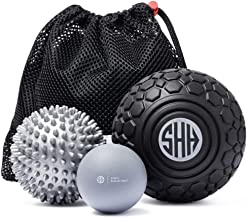 Massage Balls Set for Deep Tissue, Trigger Point Therapy, Myofascial Release, Mobility, Muscle Recovery, Foot Massager and Plantar Fasciitis. Inc EBOOK