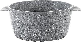 "Mopita Sirio 20cm/7.87"" Cast Aluminum Casserole Pan, Small, Grey"