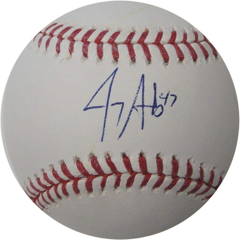 Jerry Sands Autographed Ball  Major League  Autographed Baseballs