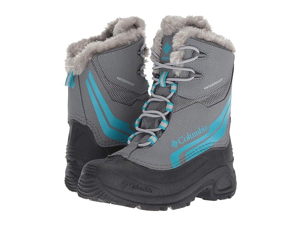 Columbia Kids Bugaboottm Plus IV Omni-Heattm (Little Kid/Big Kid) (TI Grey Steel/Pacific Rim) Girls Shoes