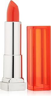 Maybelline New York Color Sensational Vivids Lipcolor, Vibrant Mandarin, 0.15 Ounce